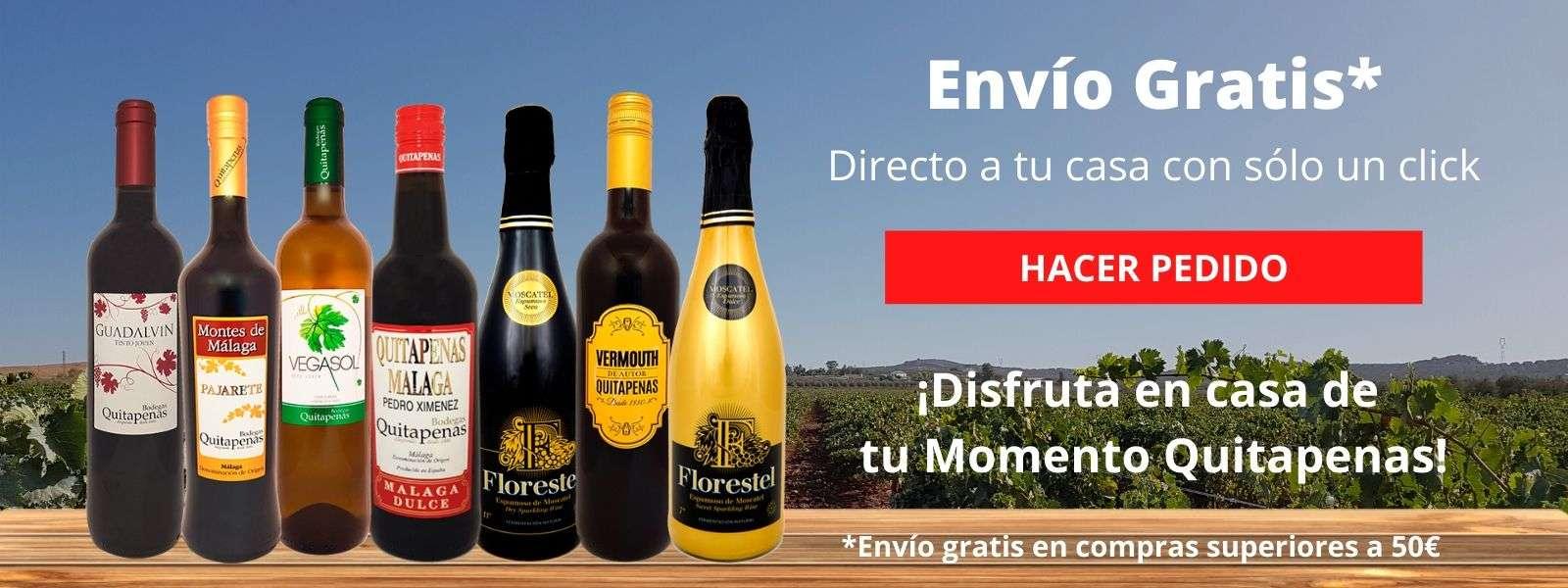 Envío gratis vinos Quitapenas